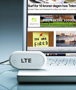 LTE vil gi deg lynraskt mobilt internett. (Foto: Istockphoto/Knape)