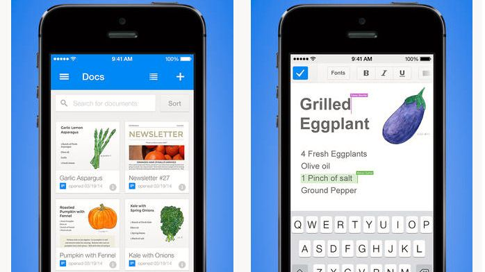 Nye apper lar deg redigere Google Docs på iOS