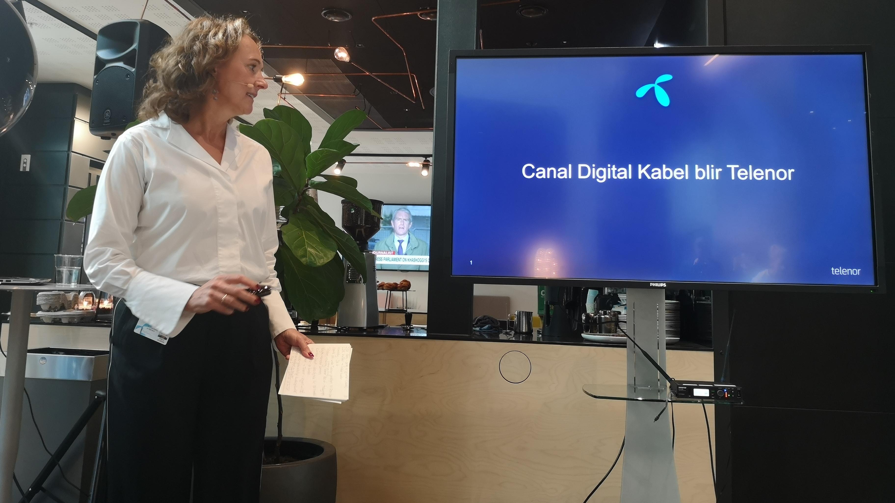 Telenor tar over alle kabelkundene til Canal Digital