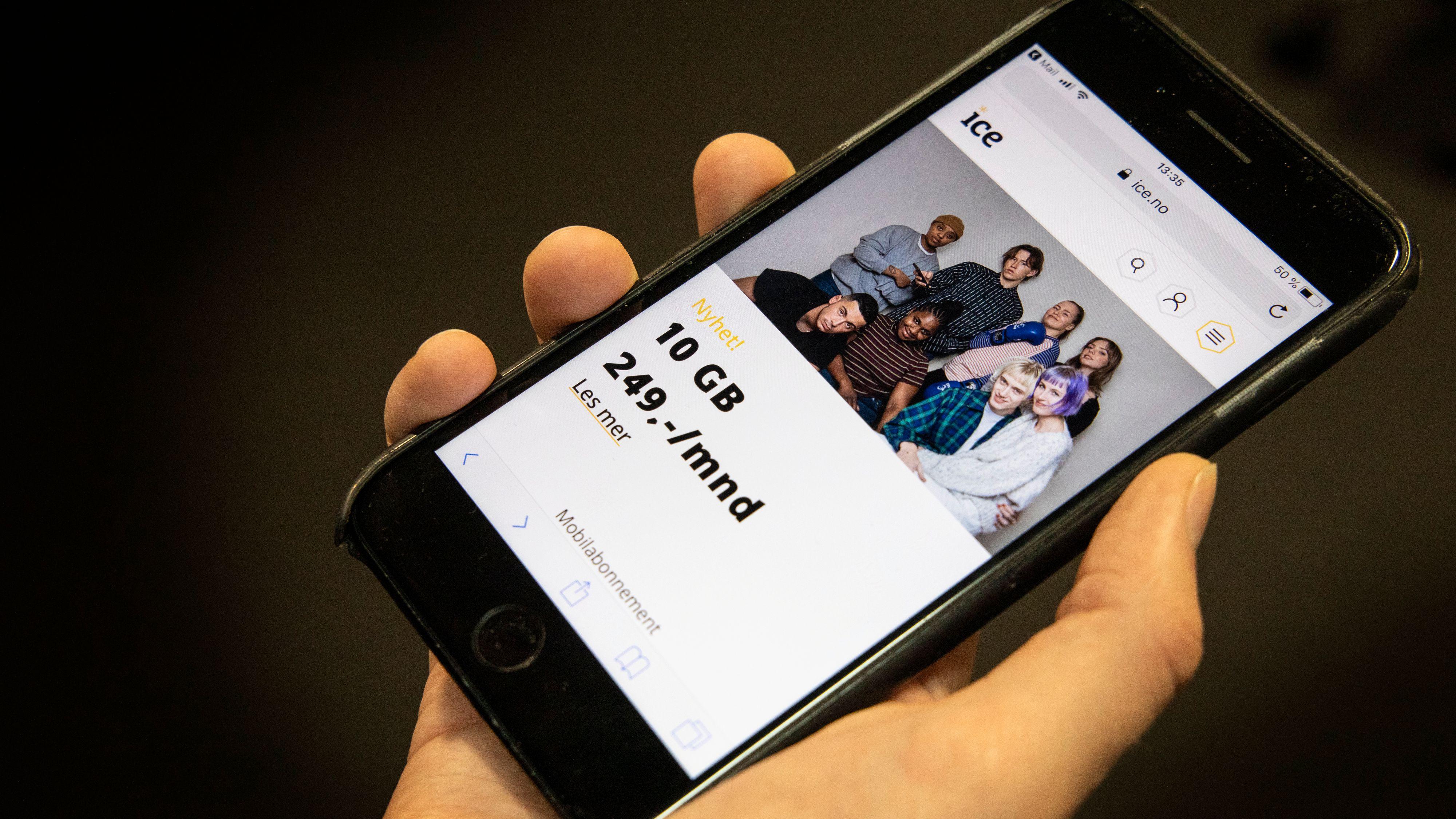 Ice lanserer IceUng: Gir ungdom 10 GB for 249 kroner i måneden