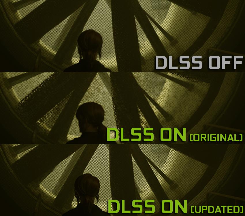 Så tydelig kan forskjellen mellom den originale og den nye DLSS-implementeringen være i Control. Se også hvordan den originale renderingen ikke kan skilles fra DLSS 2.0-versjonen med langt høyere ytelse.