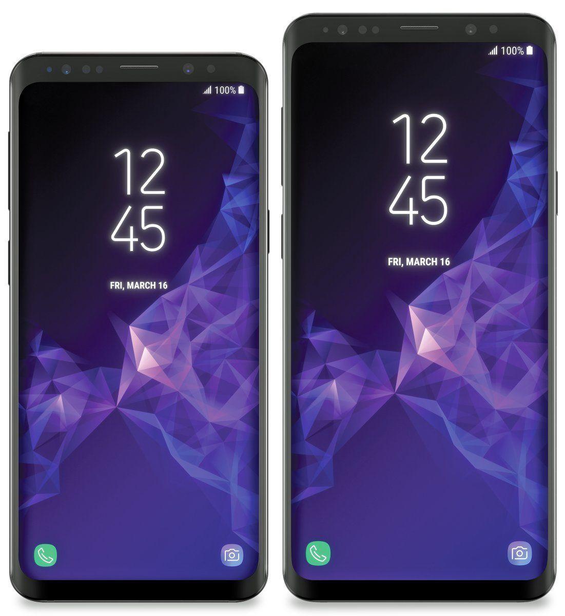 Galaxy S9 blir mest sannsynlig den første mobilen med Snapdragon 845. Slik skal telefonen se ut, ifølge lekkasjer.