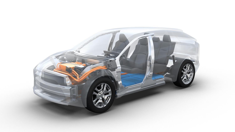 Toyota og Subaru varsler at de skal utvikle el-SUV sammen