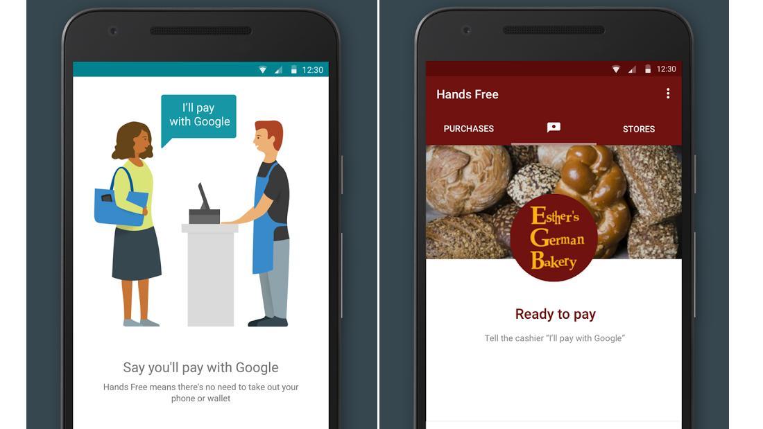 Med mobilen i lomma skal du kunne si «Jeg betaler med Google», og betalingen blir gjennomført