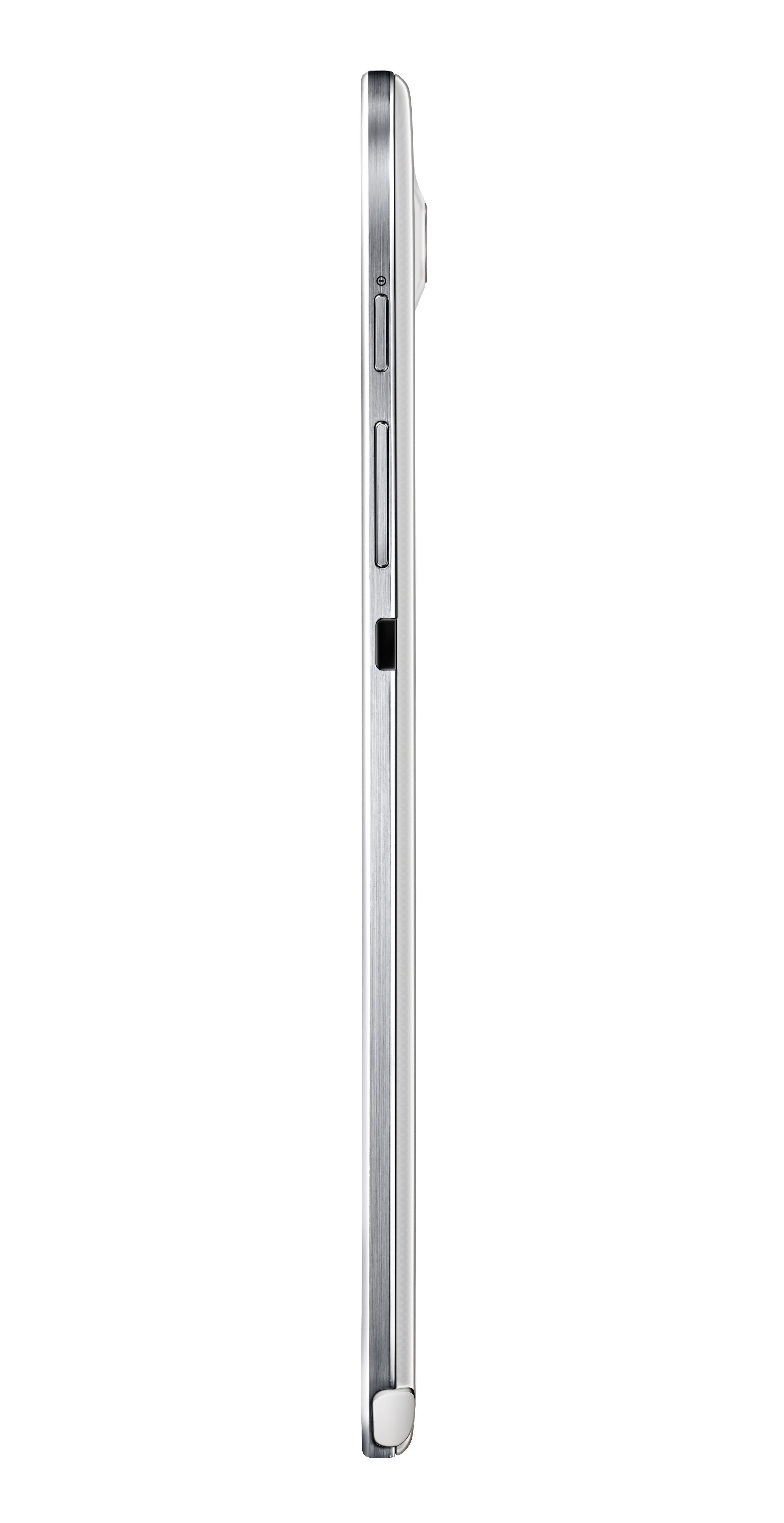 Slik ser Galaxy Note 8.0 ut fra siden.Foto: Samsung