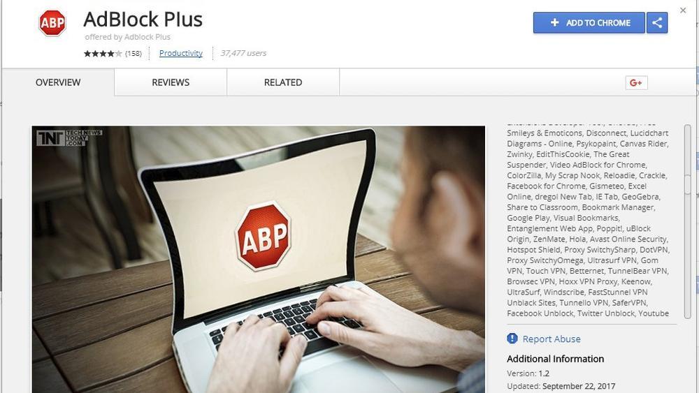 Falskt Adblock-program snek seg inn i Googles appbutikk