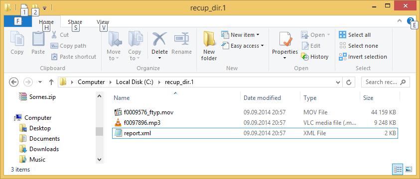 Våre forsvunne filer, nå trygt tilbake!