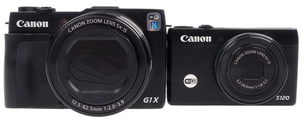 Canon G1 X Mk II og Canon S120
