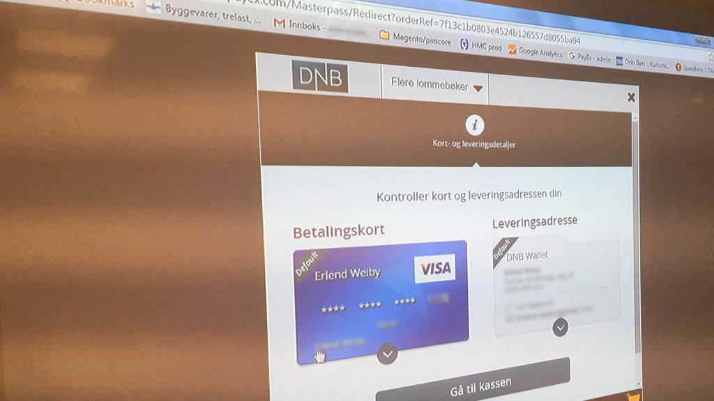 DNB vil utvikle Vipps til nettbetaling, som i stor grad konkurrerer med MasterPass-løsningen de lanserer om kort tid.