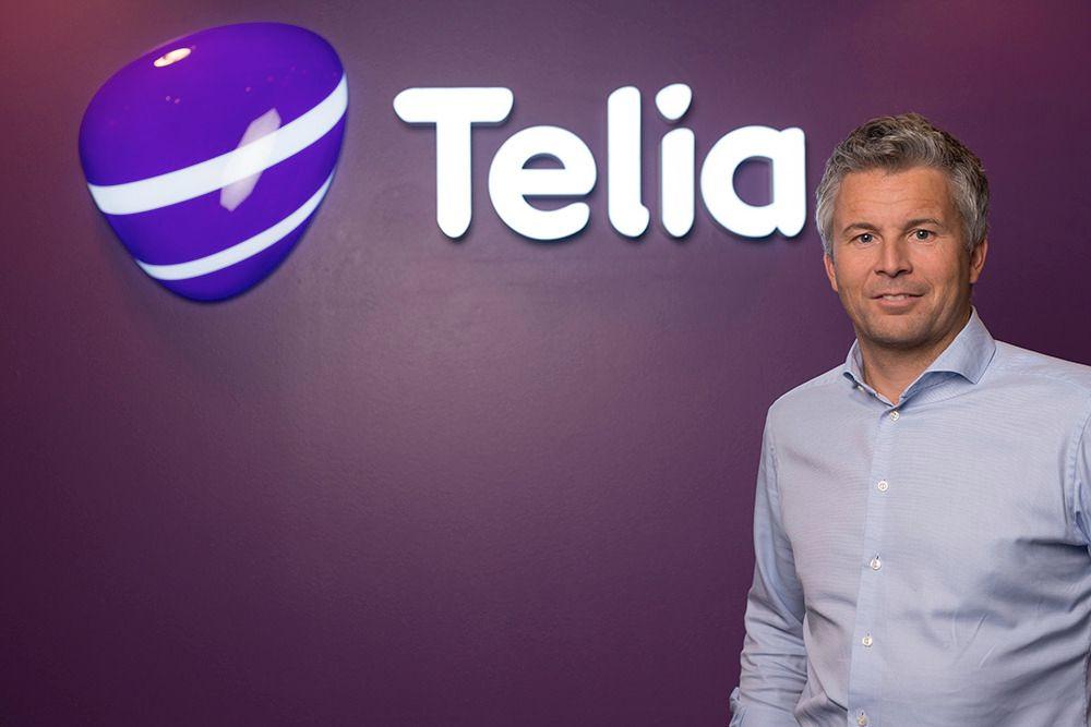 Ove-Mathias Lind, leder for kundekanaler i Telia, sier selgerne deres gjør det godt på målinger som omhandler kundetilfredshet.