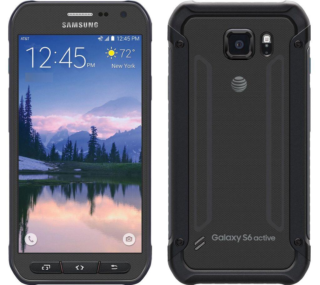 Galaxy S6 Active blir veldig lik vanlige S6 på innsiden, men får en mer hardfør utside. Foto: GSMArena/Phandroid