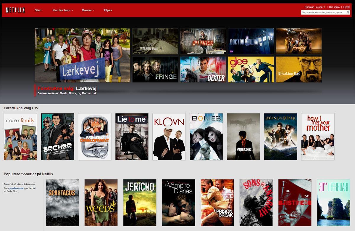 Netflix Danmark.Foto: Netflix