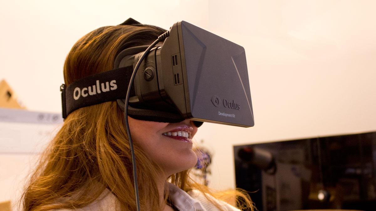 Oculus Rift startet som et Kickstarter-prosjekt, og er nå kjøpt opp av Facebook.Foto: Jørgen Elton Nilsen, Hardware.no