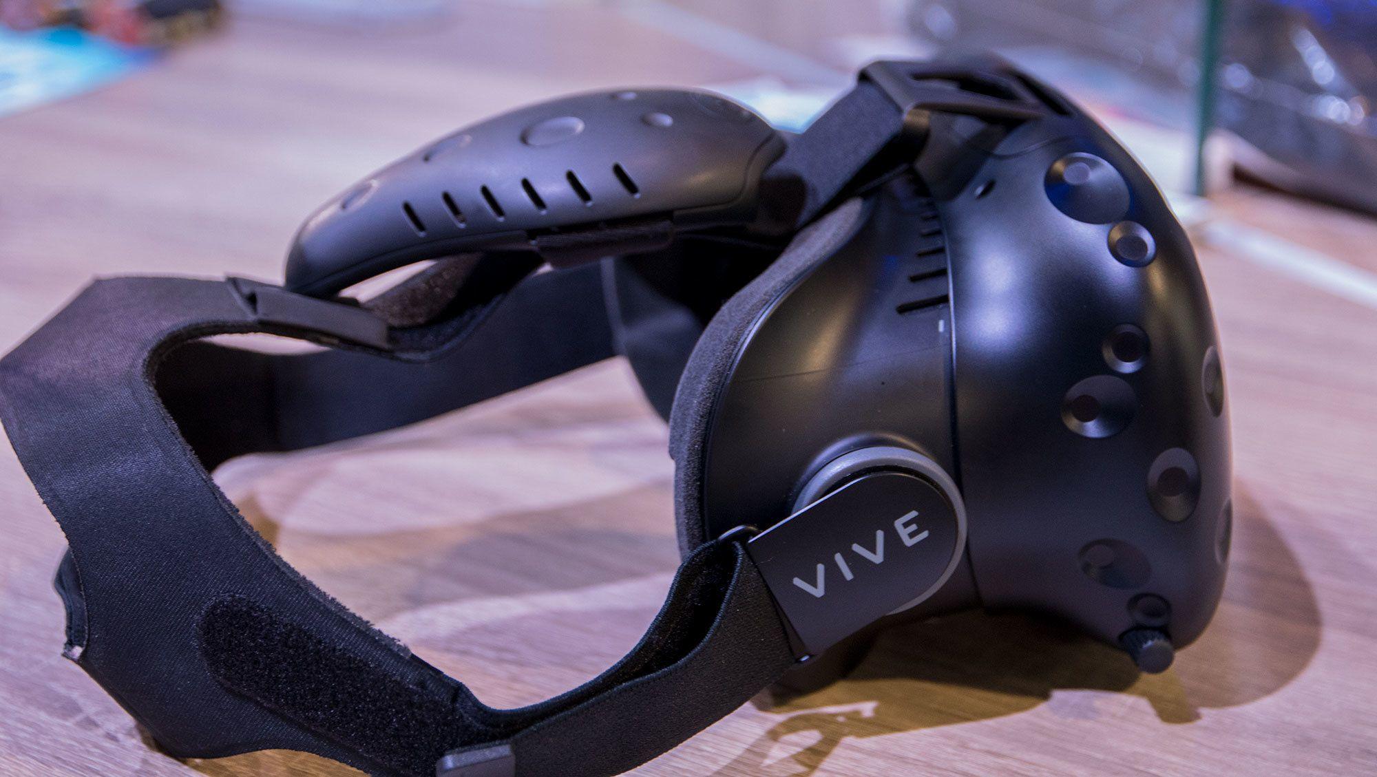 Kanskje vi får se trådløse HTC Vive-briller i år? Bilde: Niklas Plikk, Tek.no