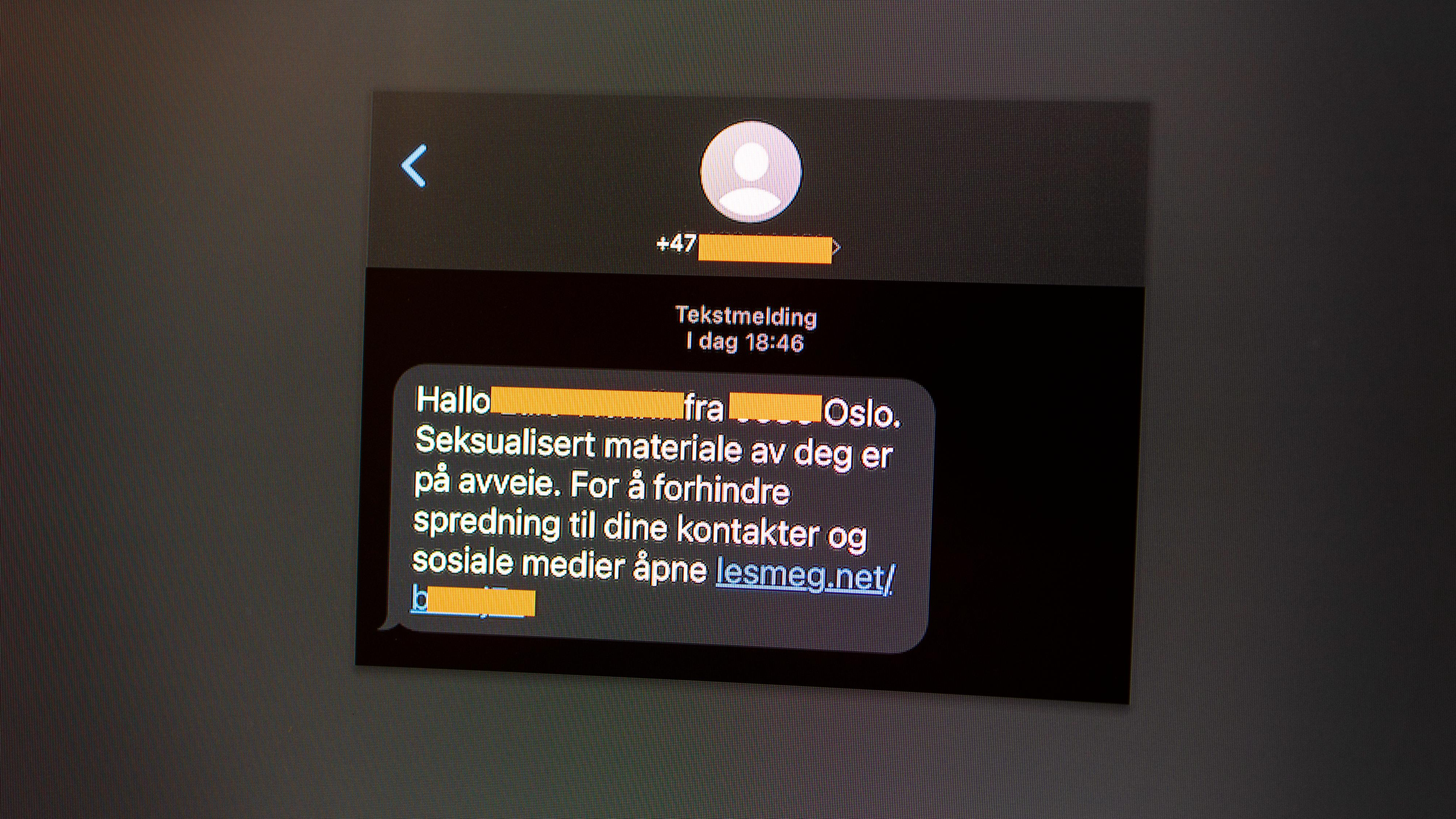 Advarer mot ny type pornoutpressing på SMS
