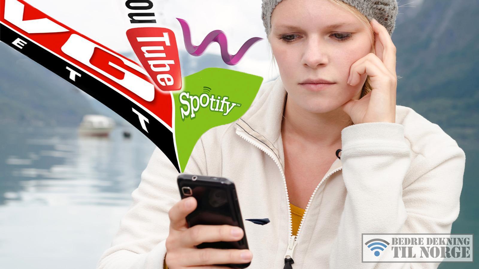 Norges største test av mobilt bredbånd