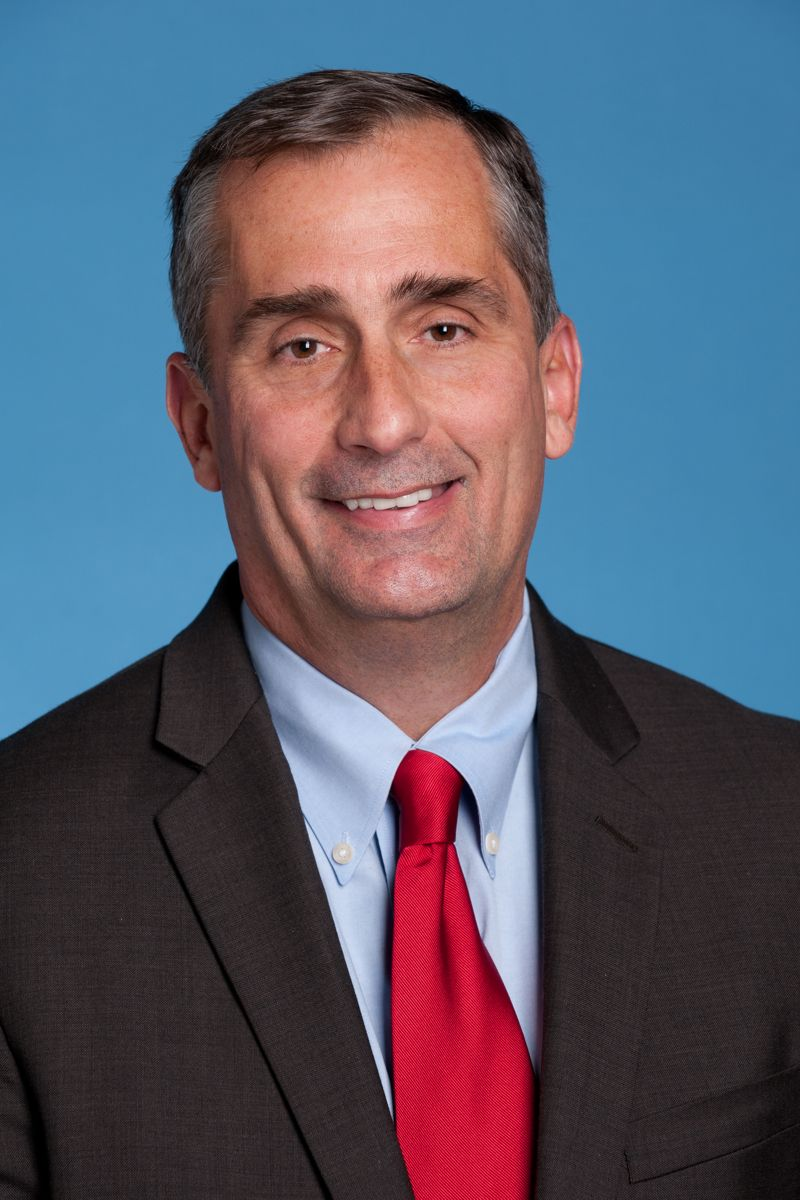 Brian Krzanich er administrerende direktør i Intel. Bilde: Intel
