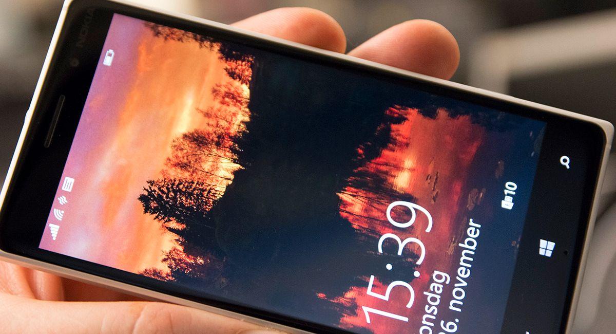 Lumia 830 har lavere skjermoppløsning enn de store toppmodellene, men særlig merkbart i daglig bruk er det ikke.Foto: Finn Jarle Kvalheim, Tek.no