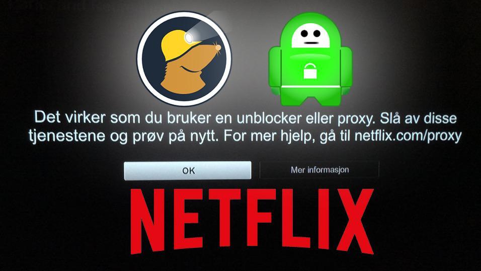 Bråstopp for amerikansk Netflix-strømming til Norge