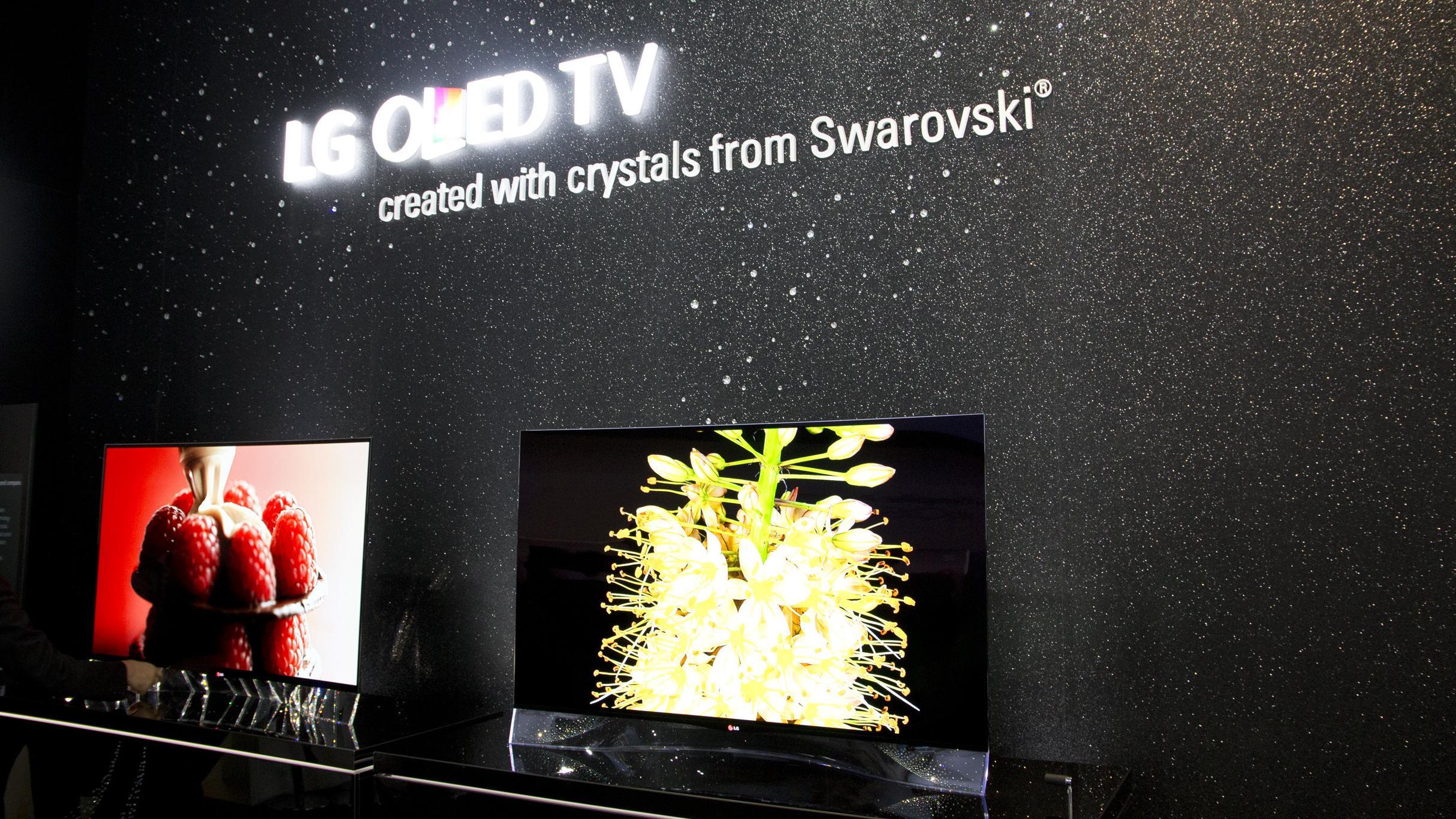 Vi har sett på LGs drøye Swarovski-TV