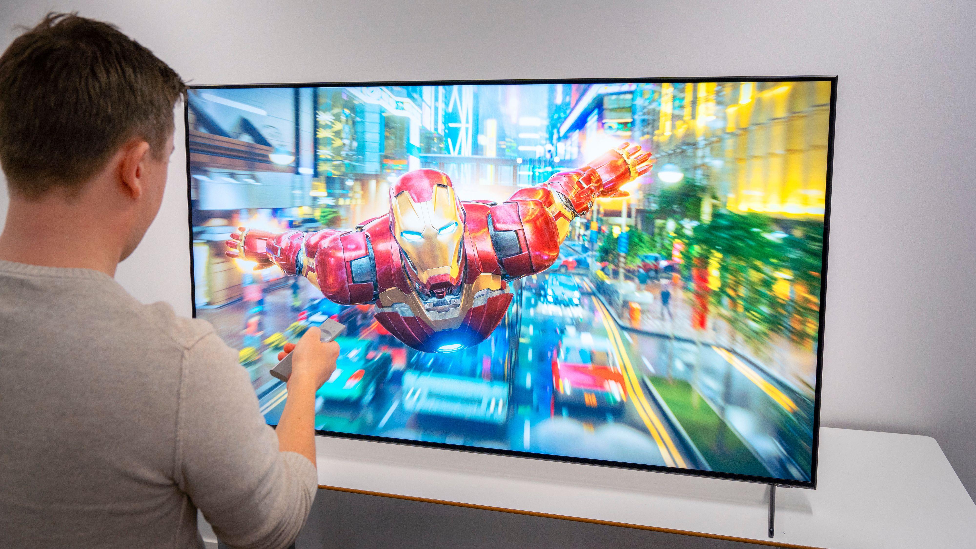Nesten alle TV-er som selges har nå 4K. Snart kommer imidlertid 8K for fullt. Her Samsungs Q900, som allerede er på markedet.