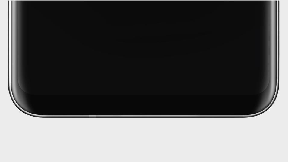 LG har hintet om V30s heldekkende skjerm, blant annet med dette bildet som de la ut på nettet.. Bilde: LG