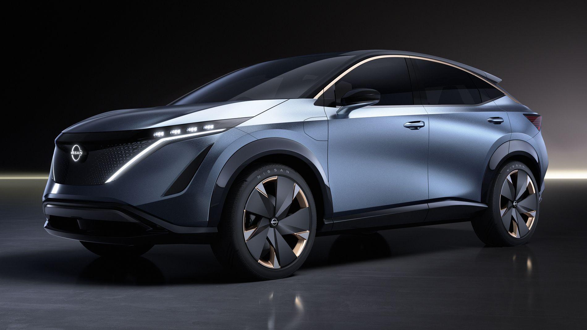 Slik ser Nissan Ariya ut i konseptversjon.