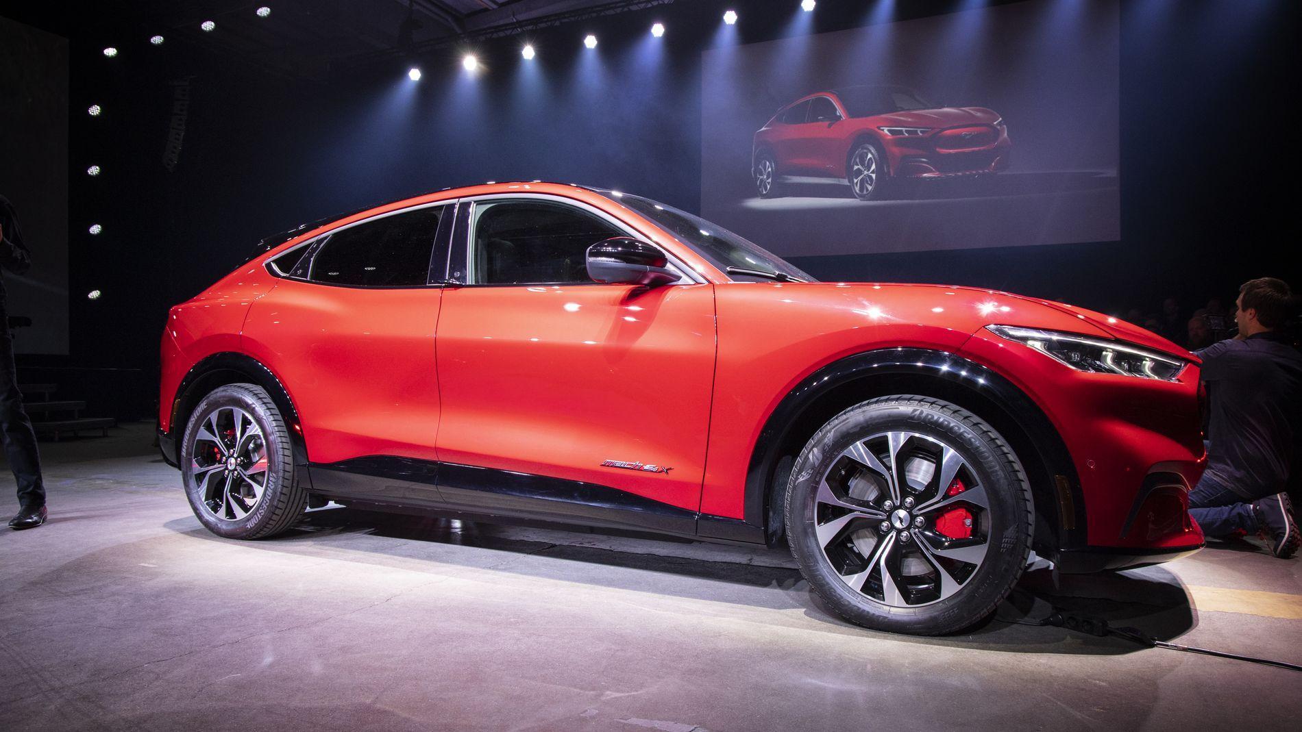 Fords Mustang Mach-E blir forsinket