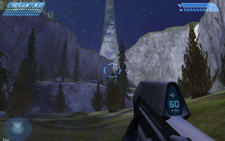 Slik så det originale Halo: Combat Evolved ut til den første Xbox-konsollen.