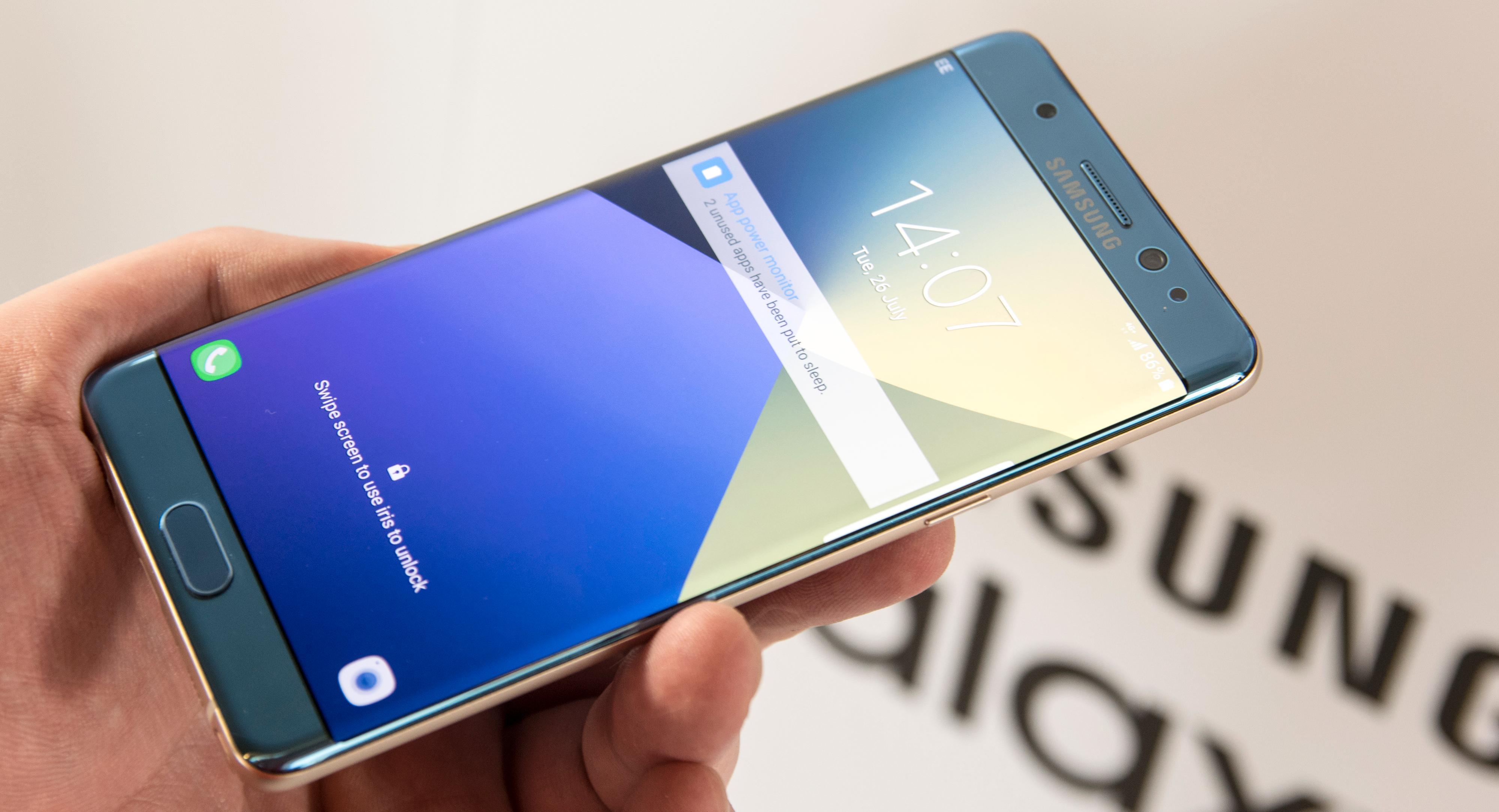 Samsung skal visstnok foreta ekstra testing av sin nye brettmobil Galaxy Note 7.