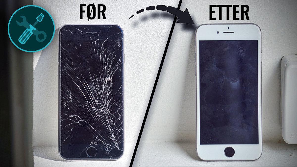 Reparasjon av iPhone 6