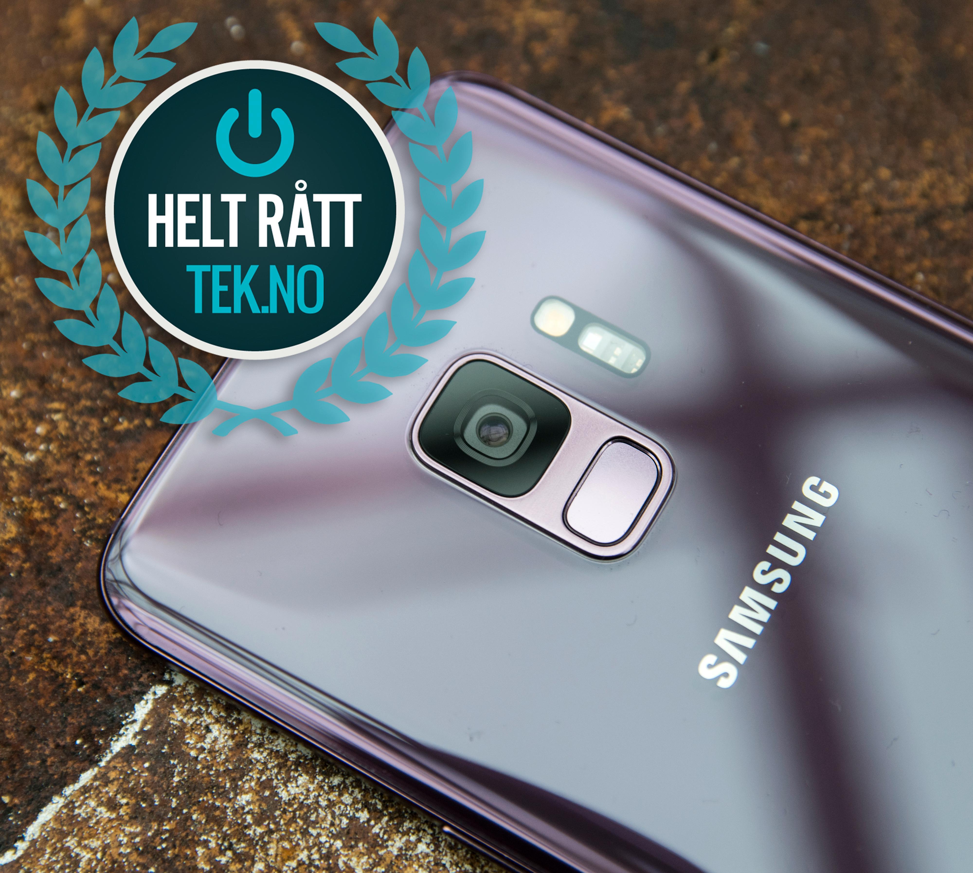 Kameraet er bedre enn i S8, men ikke så mye bedre at det utgjør noen kjempemessig forskjell. Med alle de små forbedringene Samsung har lagt til er dette markedets beste Android-telefon, men det koster - og revolusjonen er ikke like stor som i fjor.