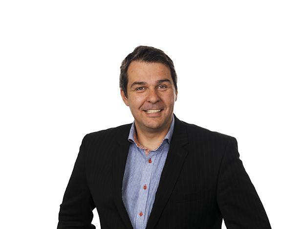 Kristian Renaas er salgsdirektor i NetCom.Foto: NetCom