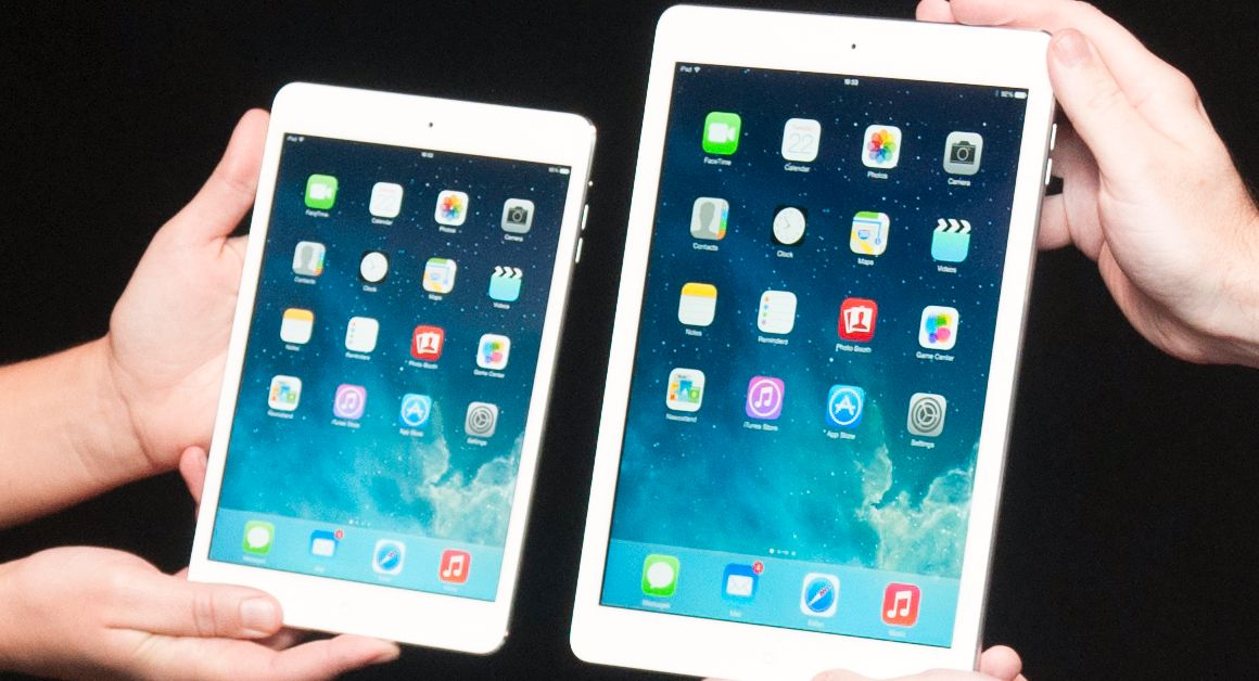 iPad Air og nye iPad Mini