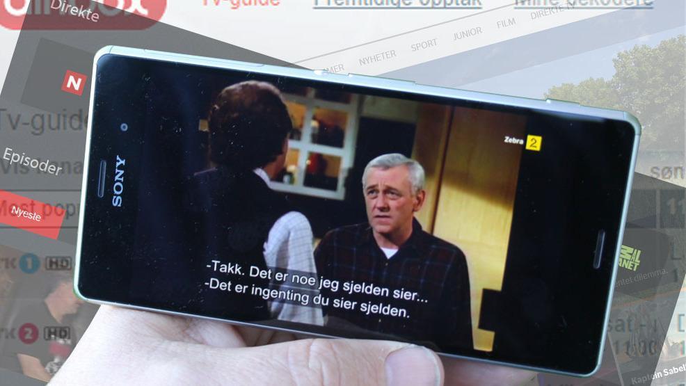 Slik tar du TV-signalene med deg på mobilen