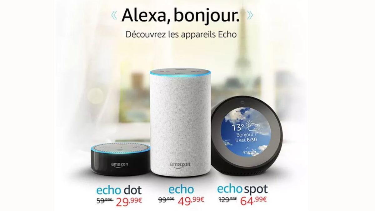 Amazon Alexa kommer til Frankrike