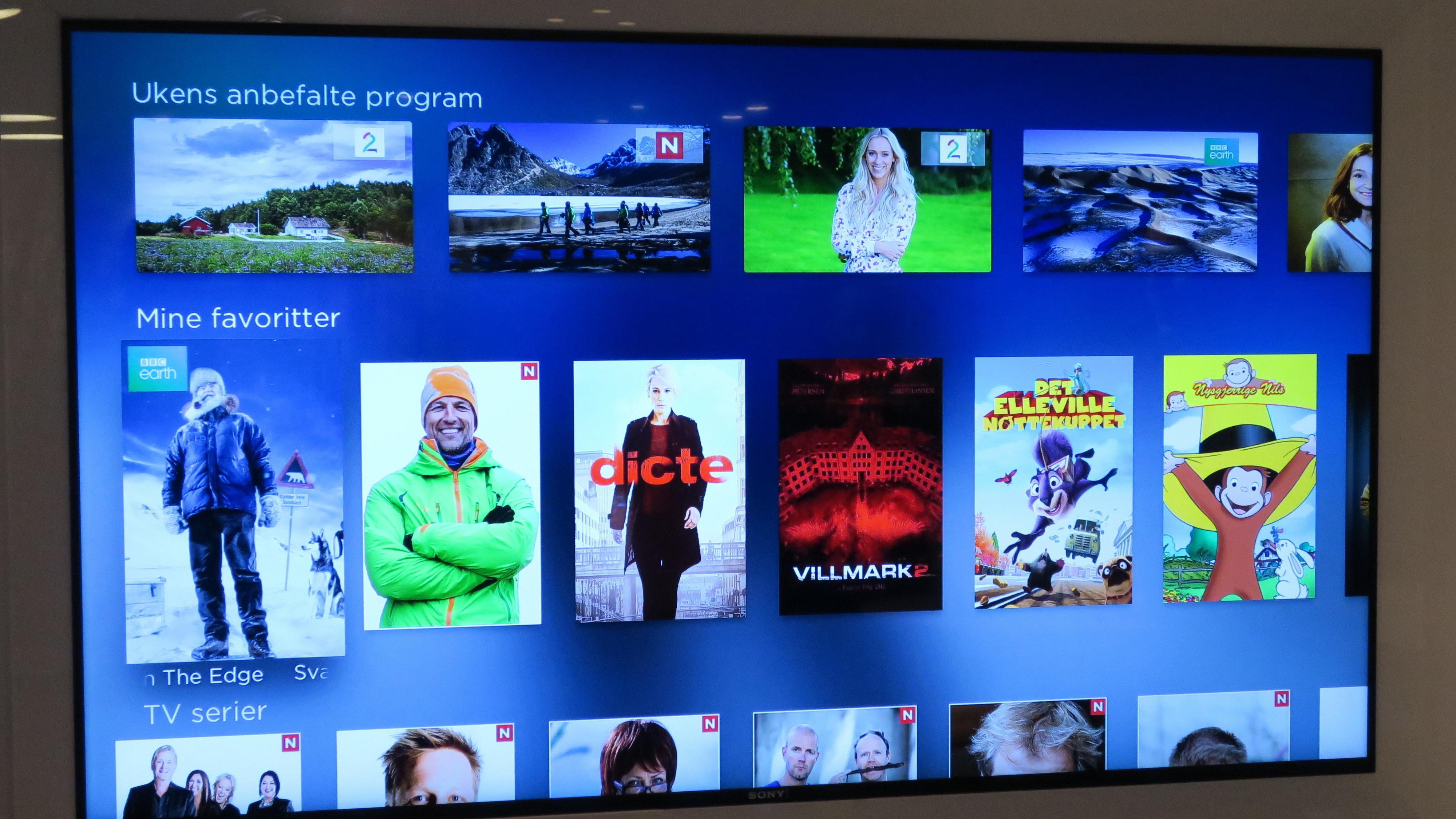 Lanserer nye TV-pakker på mandag