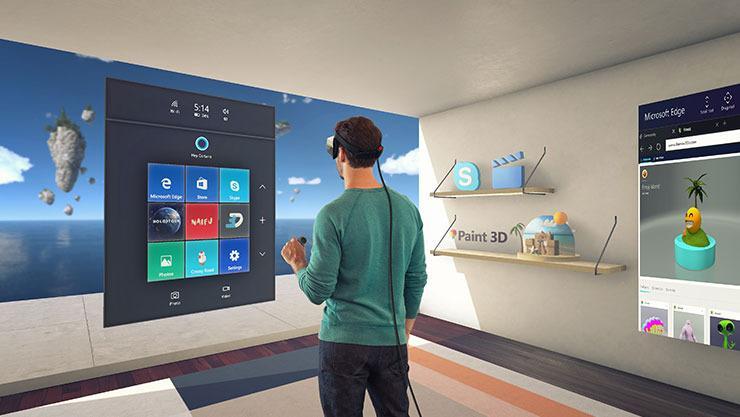 Neste år vil Windows 10 by på mange ulike VR-verktøy.