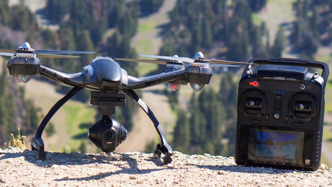 Ny kameradrone filmer i 4K-oppløsning