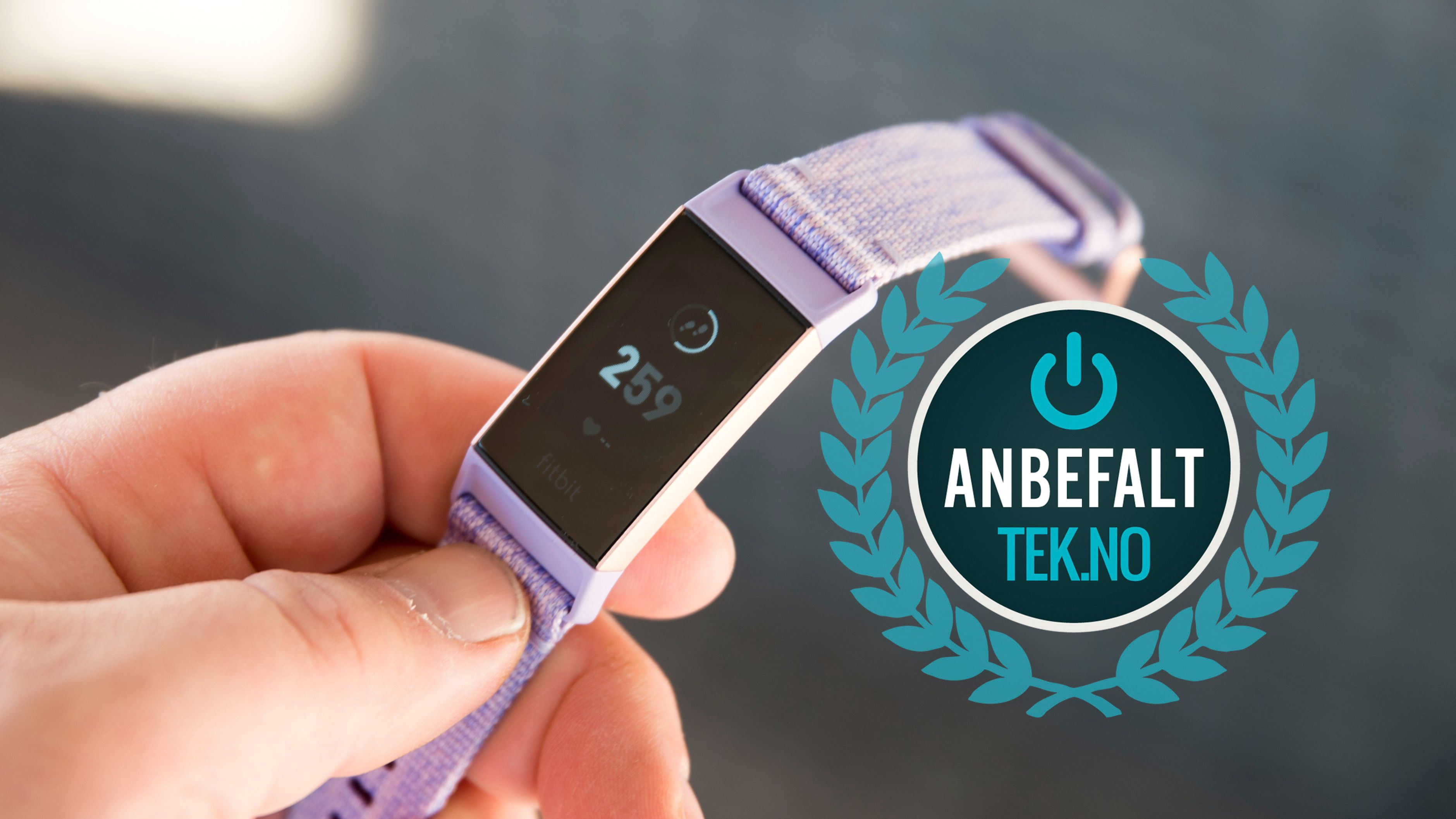Vi kan trygt anbefale deg Fitbit Charge 3.