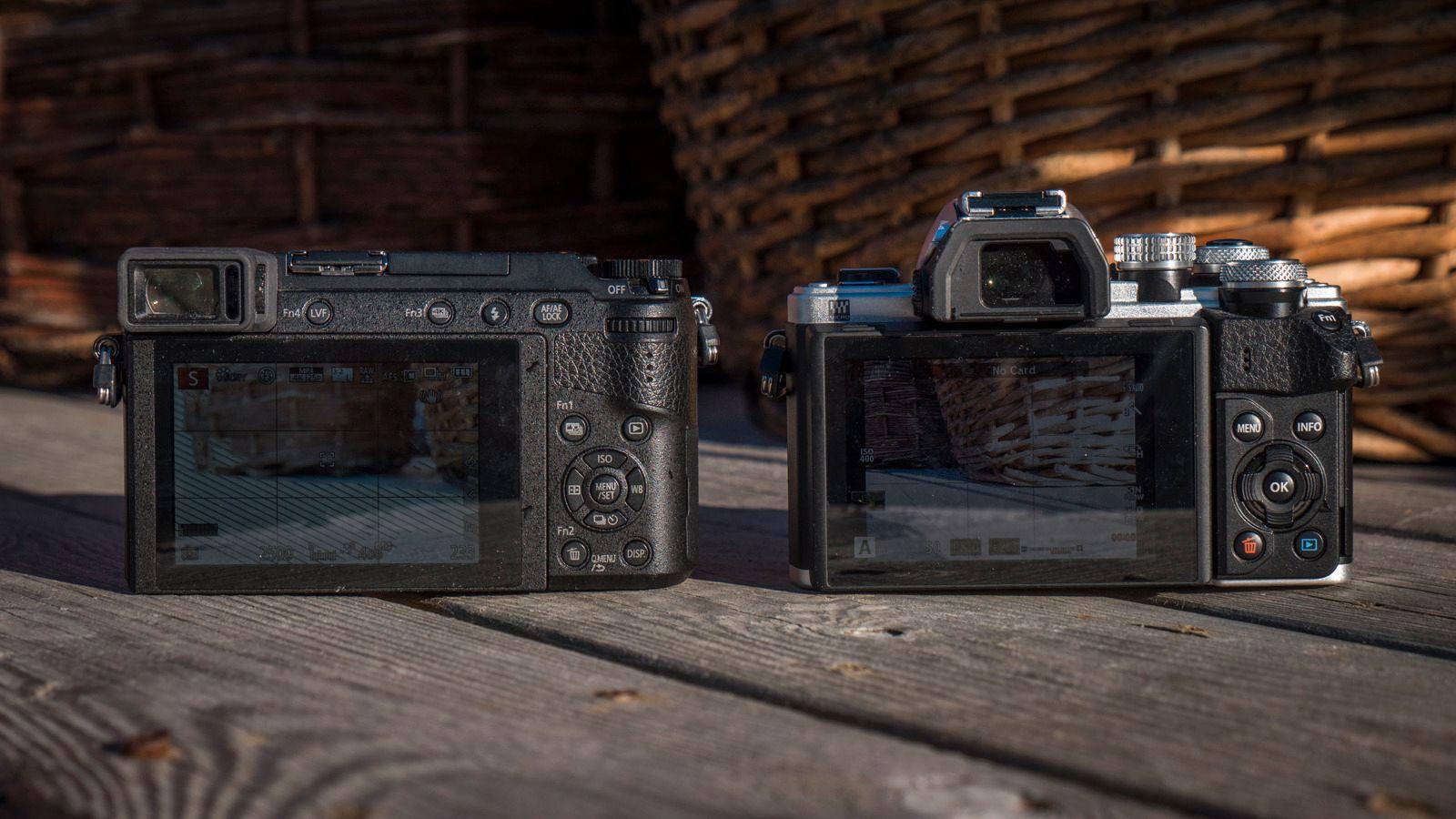 Vi har noen flere betjeningsmuligheter med GX80, men de største forskjellene gjelder først og fremst for video.