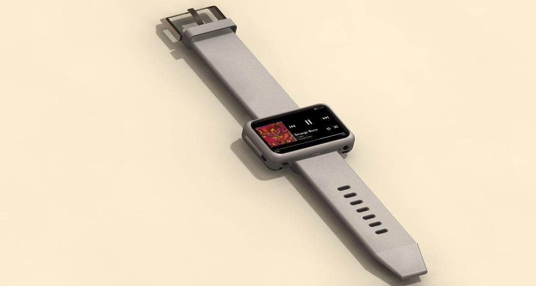 Med mellom 8 og 32 gigabyte lagringsplass skal klokken egne seg godt som musikkspiller.Foto: Neptune