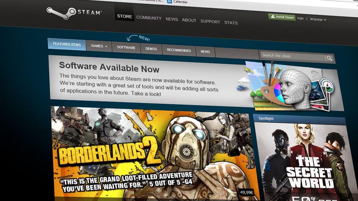 Steam ikke lenger bare for spill