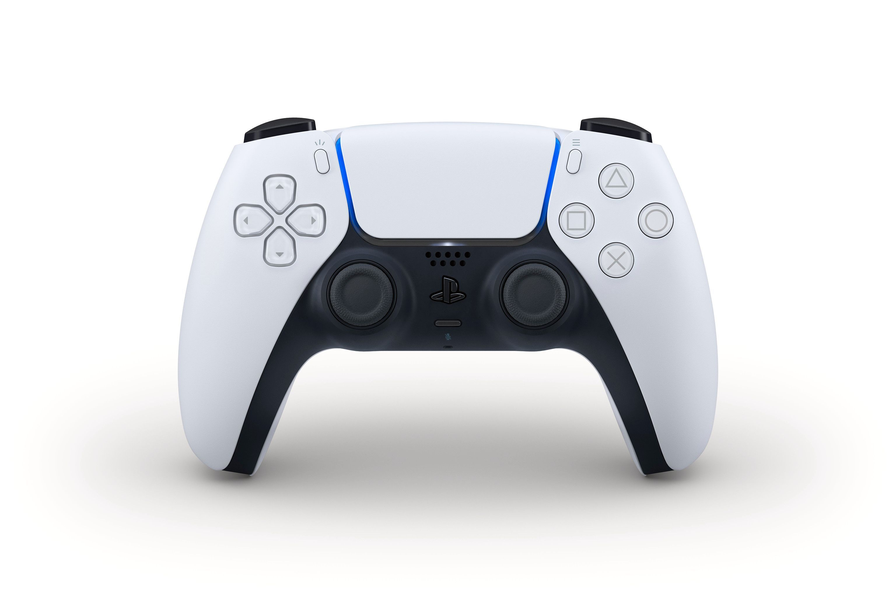Slik vil den nye PlayStation 5-kontrolleren se ut.