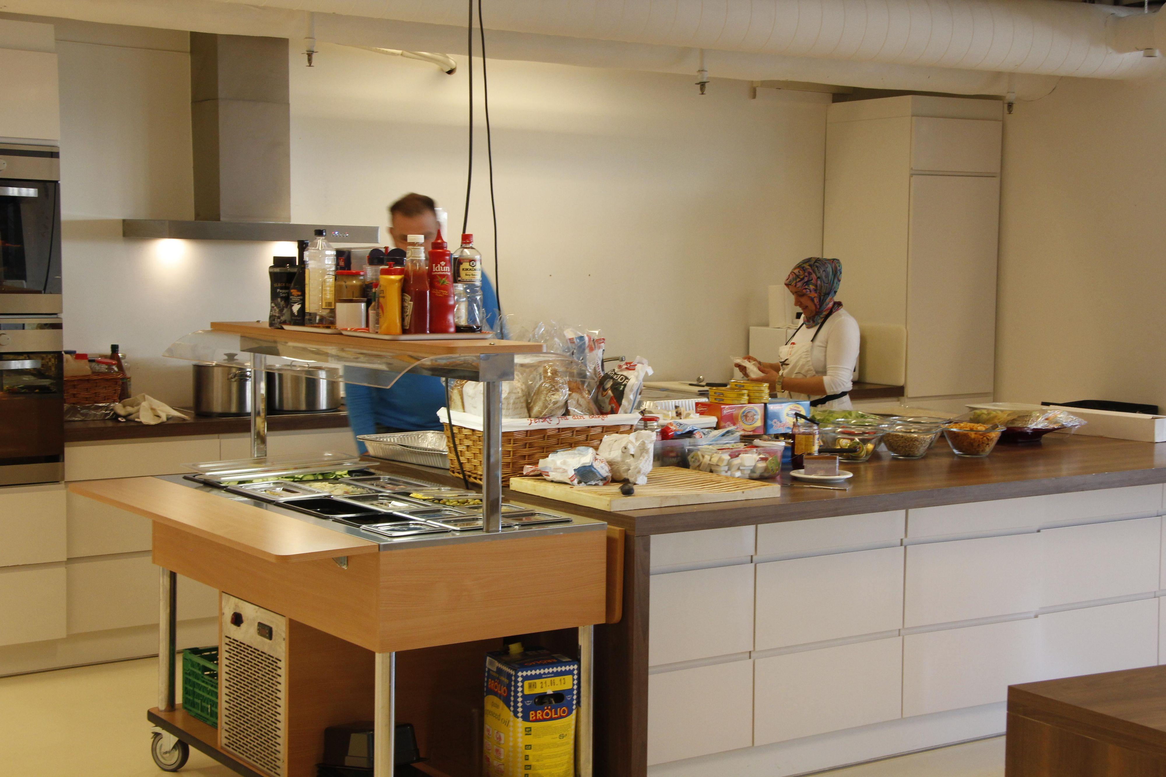 En velutstyrt kantine hører med.Foto: Atle Skretting