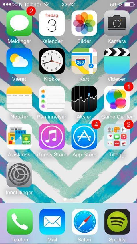 Sophie Boye Forstrønen er én av mange som tilsynelatende er godt fornøyd med Apples app-utvalg.