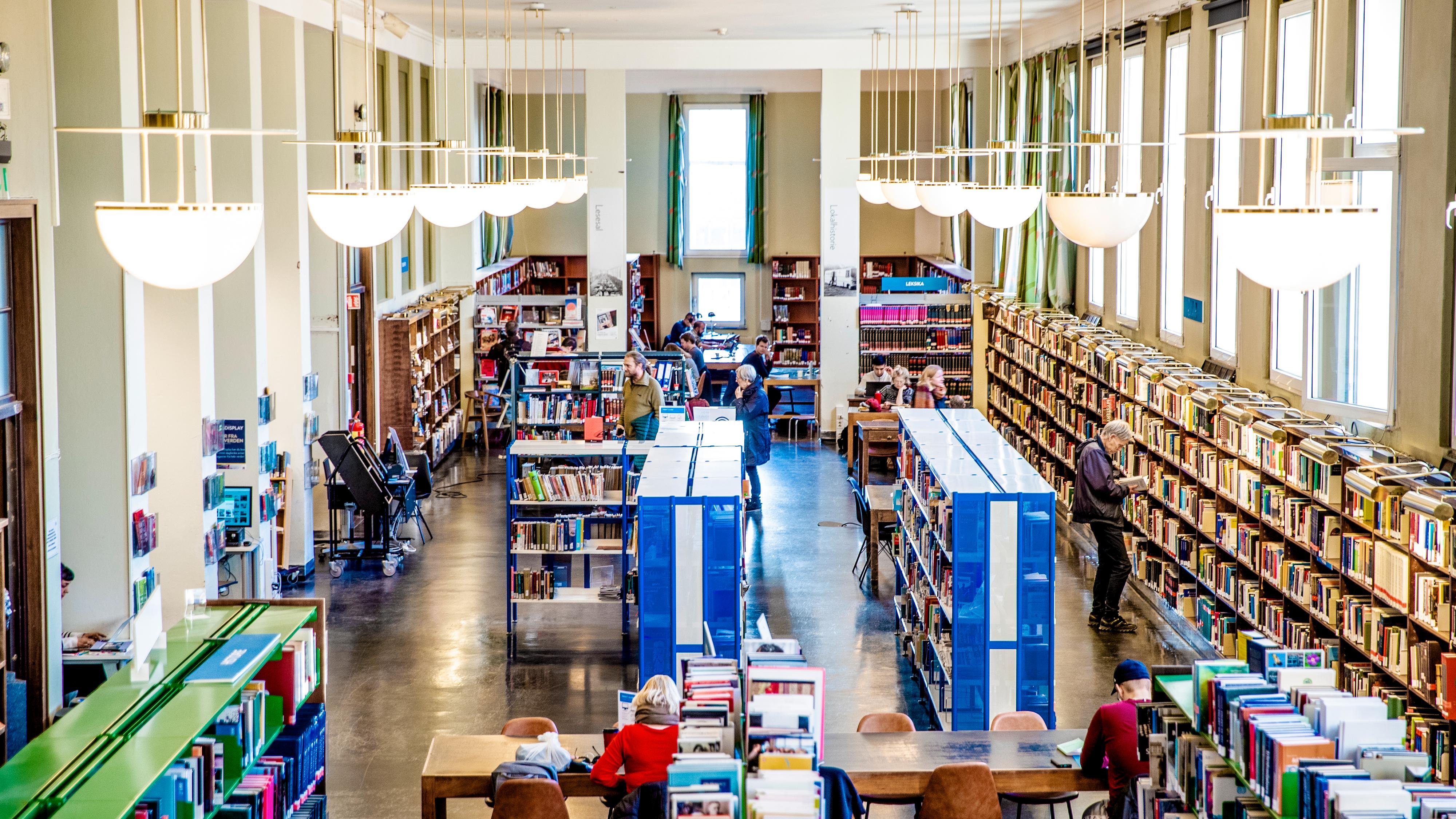 Bibliotekene får egen strømmetjeneste