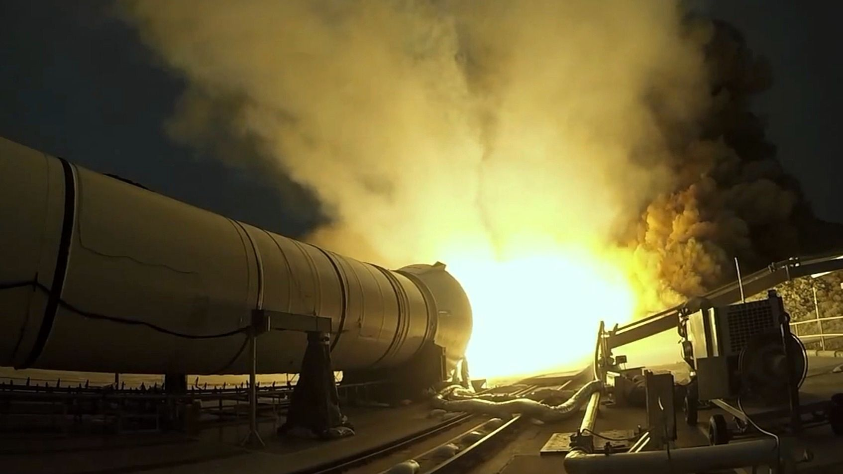 Denne raketten skal ta oss til Mars