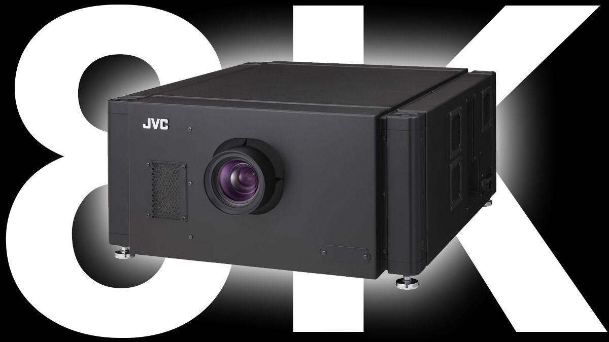 JVC slipper en grisedyr 8K-projektor