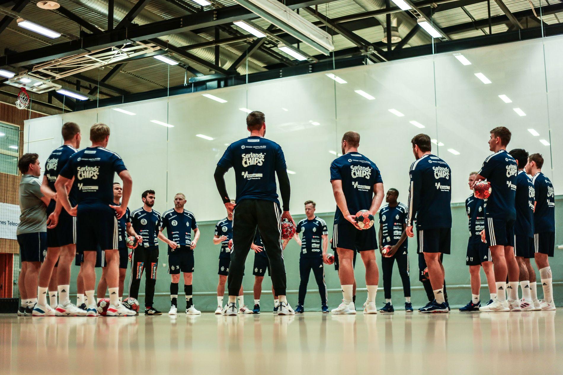 KRS Topphåndball rykket opp til eliteserien i år.